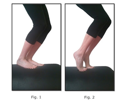 calf raises with bent leg for achilles tendon issues prevention