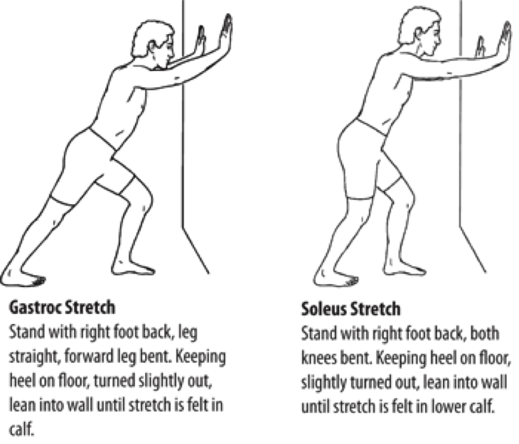 Calf Stretches for Achilles Tendon Issue Prevention